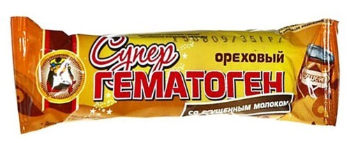 Купить Гематоген супер ореховый со сгущ мол/шок/гл цена