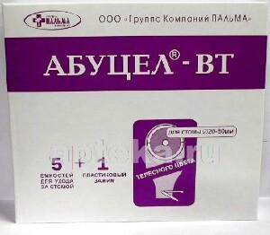 Купить Калоприемник однокомпонентный абуцел- вт (диаметр стомы до 80мм) n5 цена