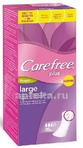 Купить Plus large fresh прокладки ежедневные экстра защита с ароматом свежести большой размер n20 цена