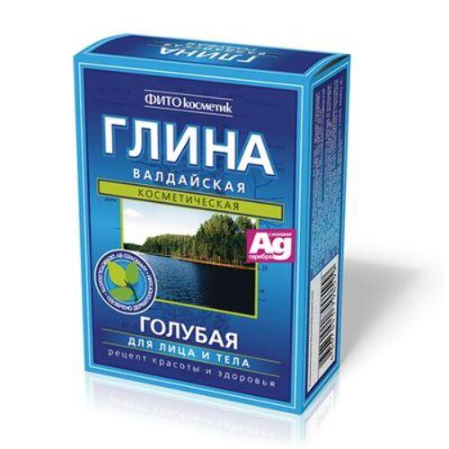 Купить Глина валдайская сухая голубая 100,0 цена