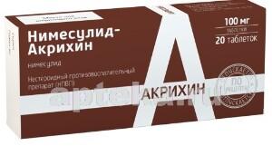 Купить Нимесулид-акрихин цена