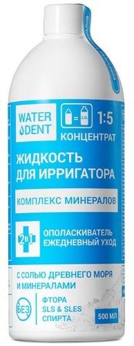 Купить Жидкость для ирригатора+ополаскиватель ежедневный уход комплекс минералов 500мл цена