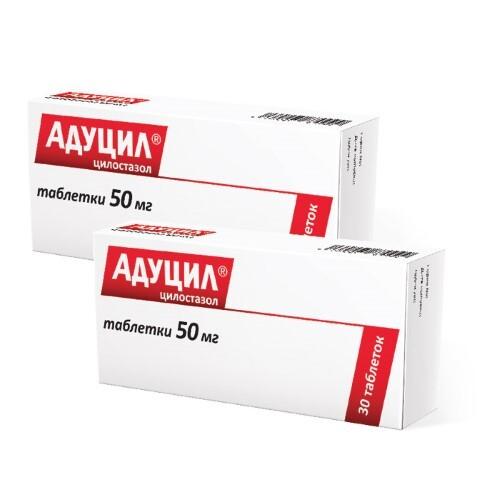 Купить Набор «адуцил 0,05 n60 табл – 2упаковки со скидкой 7%» цена