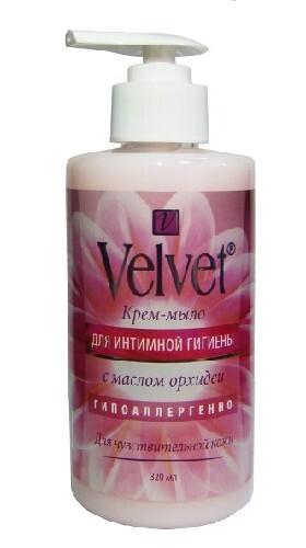 Купить Крем-мыло для интимной гигиены с маслом орхидеи 320мл цена