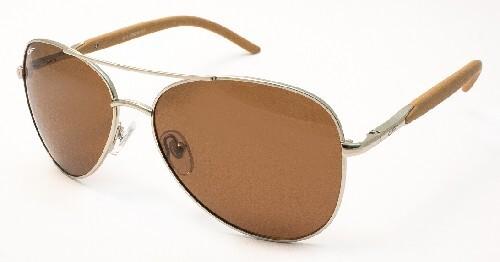 Очки поляризационные унисекс пластик коричневая линза/сf8206