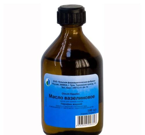 Купить Вазелиновое масло 100мл фл д/прием вн/тульская фф цена