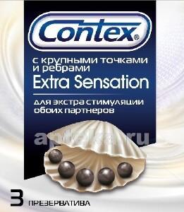 Презерватив extra sensation n3