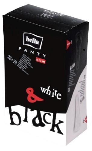 Купить Panty slim black&white прокладки ежедневные n40 цена