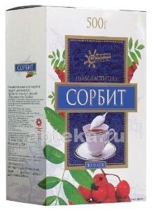 Купить ПОДСЛАСТИТЕЛЬ СОРБИТ 500,0 /КОРОБКА/ цена