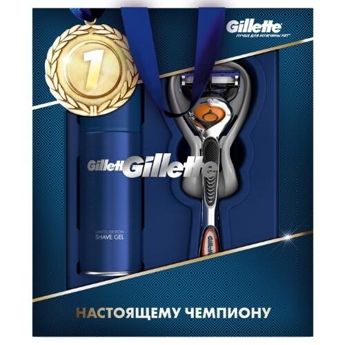 Купить Набор /fusion proglide бритва со сменной кассетой n1+gillette fusion гель для бритья для чувствительной кожи 75мл цена