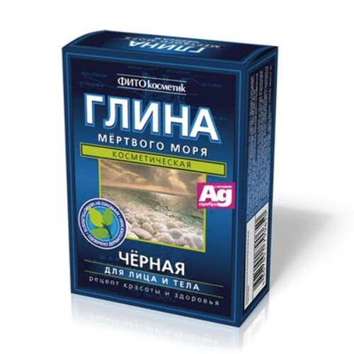 Купить Глина мертвого моря черная 100,0 цена