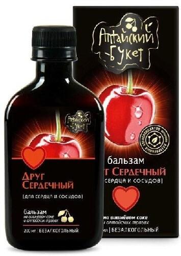 Бальзам алтайский букет n6 друг сердечный д/сердца и сосудов