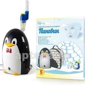 Купить Ингалятор /небулайзер/ пингвин компрессорный с сумкой цена