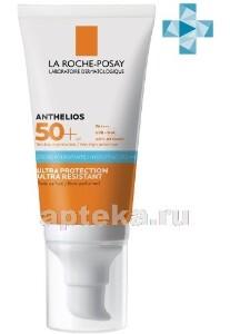 Купить Anthelios крем солнцезащитный увлажняющий для лица и кожи вокруг глаз 50+ 50мл цена