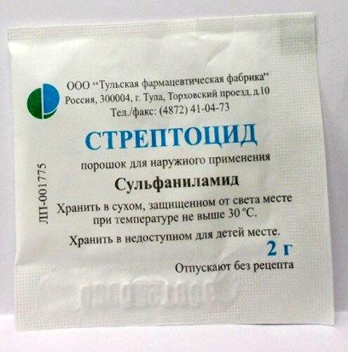 Купить Стрептоцид 2,0 пор/тульская фф/ цена