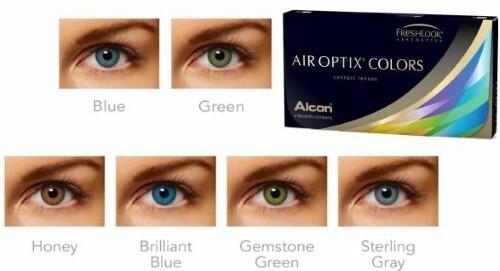 Купить ALCON AIR OPTIX COLORS ЦВЕТНЫЕ КОНТАКТНЫЕ ЛИНЗЫ ПЛАНОВОЙ ЗАМЕНЫ /-0,00/ N2 /STERLING GREY цена