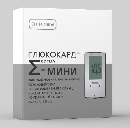 Купить Глюкометр глюкокард сигма-мини с тест-полосками цена