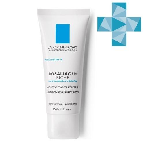 Купить Rosaliac uv riche увлажняющее средство для усиления защитной функции кожи склонной к покраснениям spf15 с40м цена