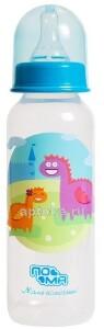 Купить Бутылочка полипропиленовая силиконовая соска 6+ 250мл/4210 цена