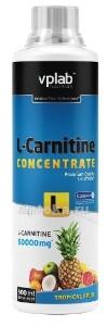 Купить Вплаб l-карнитин концентрат со вкусом тропических фруктов цена