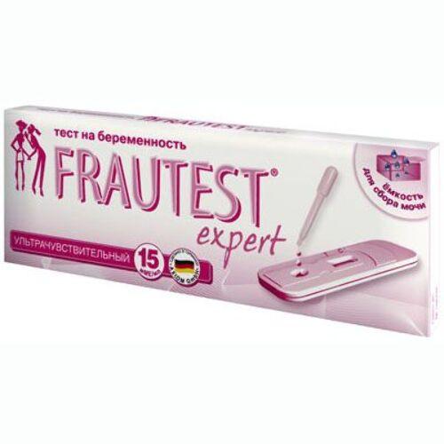 Купить Тест для определения беременности frautest expert цена