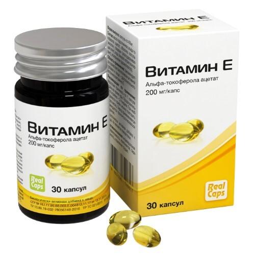 Купить Витамин е n30 капс массой по 400мг /реалкапс/ цена