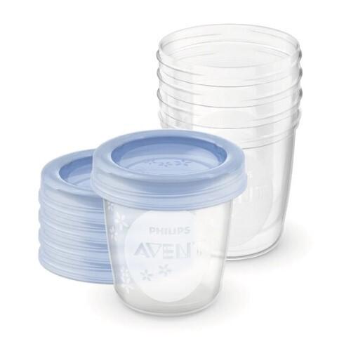 Купить Avent набор контейнеров 180мл n5 scf619/05 цена