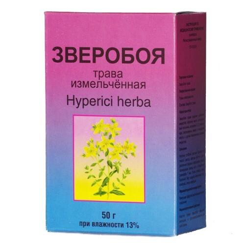 Купить ЗВЕРОБОЯ ТРАВА 50,0/ФИТО-БОТ/ цена