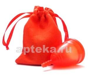 Купить Менструальная чаша серия лен размер l/красная цена