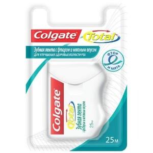 Купить Total с фтором и мятным вкусом зубная лента цена