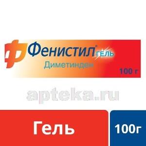 Купить ФЕНИСТИЛ 0,1% 100,0 ГЕЛЬ Д/НАРУЖ ПРИМ цена