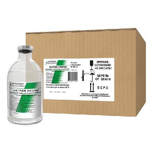Купить Натрия хлорид 0,9% 400мл n15 р-р д/инф /биохимик цена