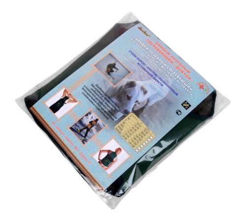 Купить Бандаж доктор лечебный согревающий из собачьей шерсти с жесткими вставками на область спины/xxxxl цена