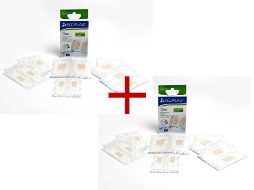 Купить Набор ecoplast набор пластырей мед полимер clear n16 2уп по цене 1! цена