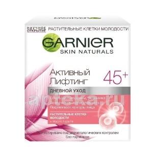 Купить Skin naturals дневной крем для лица активный лифтинг 45+ сокращающий морщины 50мл цена