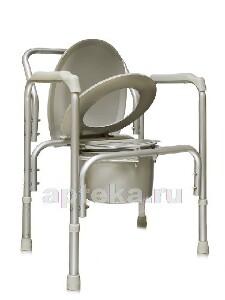 Купить Кресло-туалет облегченное со спинкой amcb6804 цена