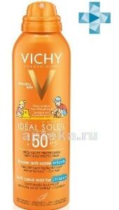 Купить Capital ideal soleil спрей-вуаль детский для лица тела анти-песок spf50+ 200мл цена