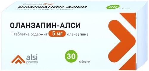 Купить ОЛАНЗАПИН-АЛСИ 0,005 N30 ТАБЛ цена