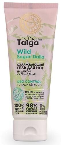 Купить Doctor taiga гель для ног охлаждающий тонус и легкость 75мл цена