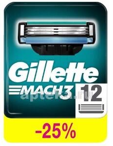 Купить GILLETTE MACH3 КАССЕТЫ СМЕННЫЕ ДЛЯ БРИТЬЯ N12 цена