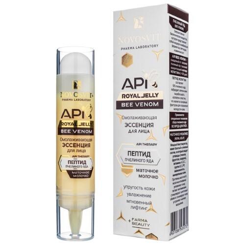 Купить Api royal jelly bee venom омолаживающая эссенция для лица 35мл цена