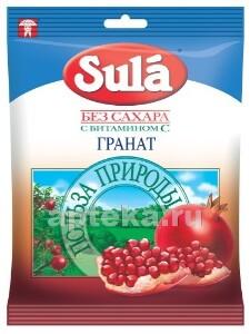 Купить ЛЕДЕНЦЫ SULA Б/САХАРА 60,0 /ГРАНАТ/ цена