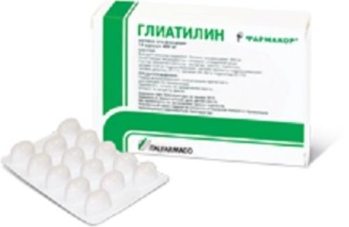 Купить Глиатилин 0,4 n14 капс цена