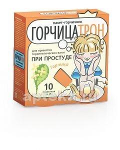 ГОРЧИЦАТРОН ПАКЕТ-ГОРЧИЧНИК ДЛЯ ВАНН N10 ПАК
