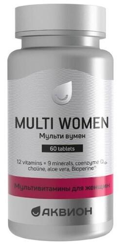 Купить Аквион мультивитамины для женщин цена