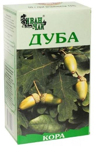 Купить Дуба кора 50,0/иван-чай цена