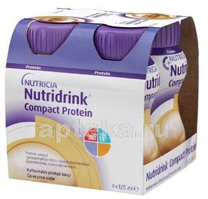 Купить Компакт протеин кофе смесь 125мл n4 цена