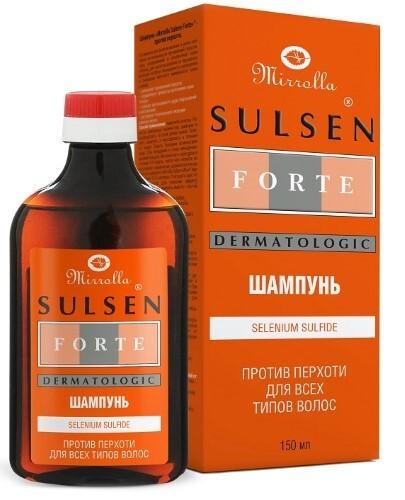 Купить Sulsen форте шампунь против перхоти 150мл цена