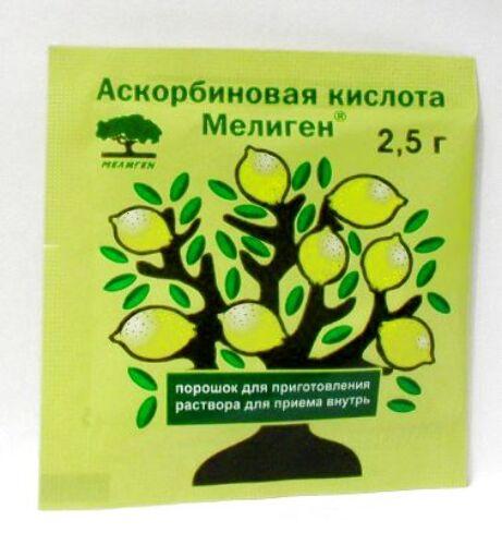 Купить Аскорбиновая кислота мелиген цена