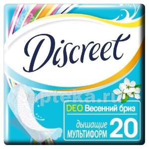 Купить Deo multiform весенний бриз ежедневные гигиенические прокладки n20 цена